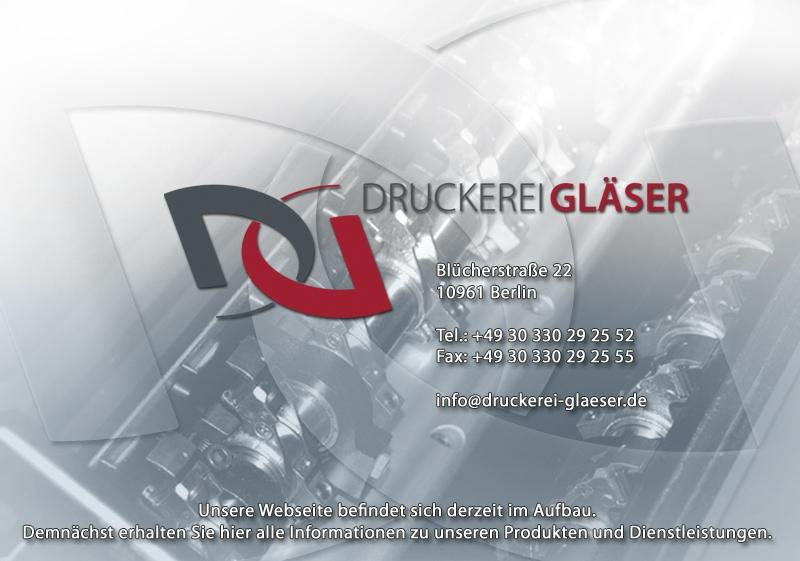 Druckerei Gläser